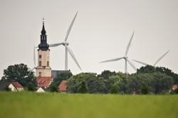 Der ambitionierte Wandel zur klimafreundlichen Versorgung mit Energie vollzieht sich in allen Bundesländern. Doch regional klaffen große Unterschiede. Foto: UFZ / André Künzelmann