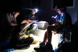 Nachtarbeit in Taiwan Foto: Dirk S. Schmeller