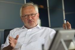 Prof. Dr. Georg Teutsch Foto: UFZ / André Künzelmann