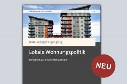 """""""Lokale Wohnungspolitik. Beispiele aus deutschen Städten"""", Nomos (2020) Foto:"""