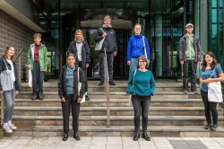 UFZ-Befragungsteam aus Wissenschaftlern und Studenten Foto: André Künzelmann / UFZ