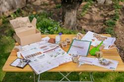 """Eins von 4.500 Aktions-Kits für die Bürgerforschungsaktion """"Expedition Erdreich"""""""