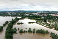 Ruhrhochwasser im Juli 2021 bei Schwerte